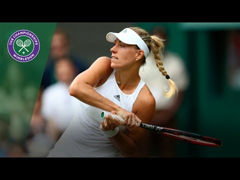 Angelique Kerber v Irina Falconi highlights - Wimbledon 2017 first round