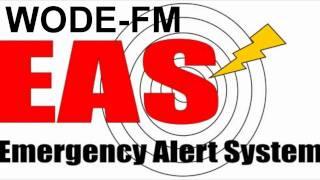 National EAS Test - WODE-FM and WZZO