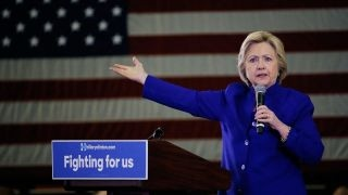 Is Hillary Clinton looking ahead to the 2020 election?
