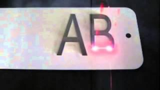 видео Фольга зеленая металлизированная  для горячего тиснения