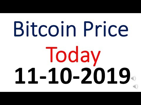 Bitcoin Price Today 11 October 2019 | Bitcoin Price Today In Indian Rupees