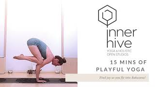 Find Joy with Bakasana in your Yoga Class! | Inner Hive with Bryony Giboin