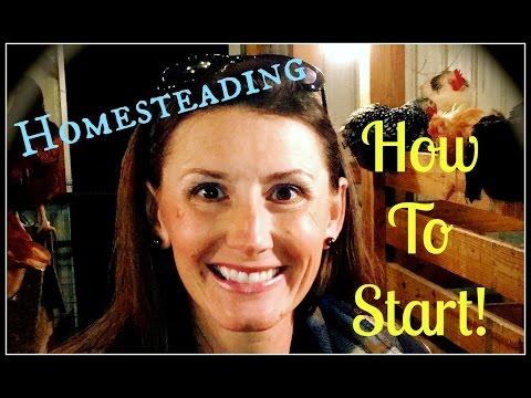 Homesteading & How To Start~