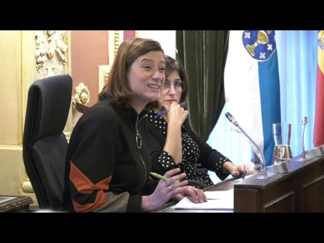 Pleno Extraordinario Concello Ourense 8/11/19