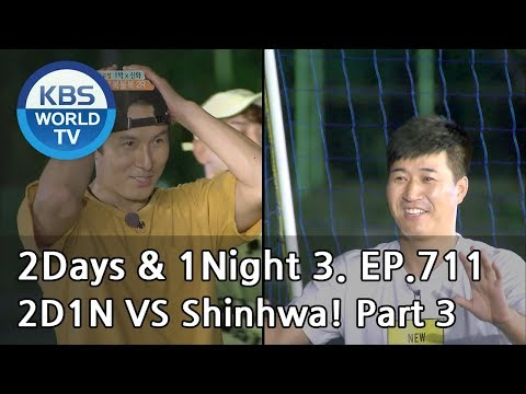 2Days & 1Night Season3 : Two Days and One Night versus Shinhwa3 [ENG, THA / 2018.08.26]