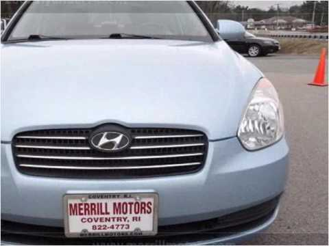 2007 Hyundai Accent Used Cars Coventry Ri Youtube