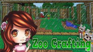 Raccoon Exhibit Ep. 9 | Zoo Crafting | [Modded Minecraft]