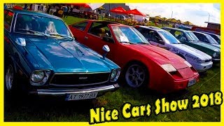 Big Classic and Nice Cars Show 2018. Best Cars of the 70s, 80s and 90s. Auto Show 2018