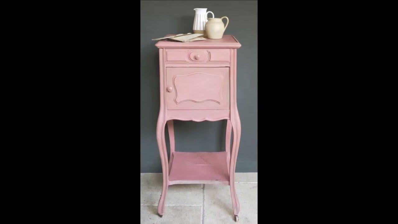 Annie Sloan Chalk Paint Scandinavian Pink Voorbeeld Youtube