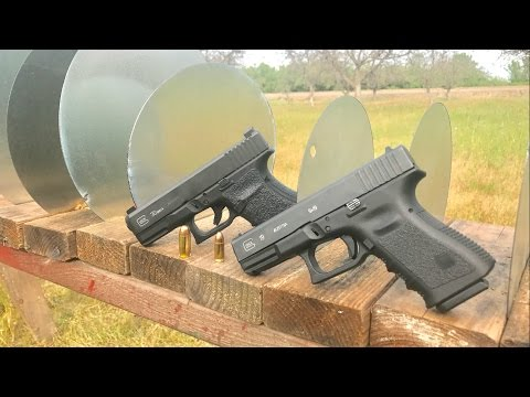 9mm vs  45acp in sheet metal penetration challenge (VIDEO)