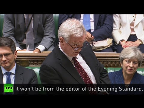 David Davis throws serious shade at George Osborne