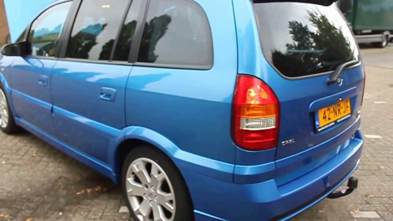 Opel Zafira 20 OPC Autosencampersnl