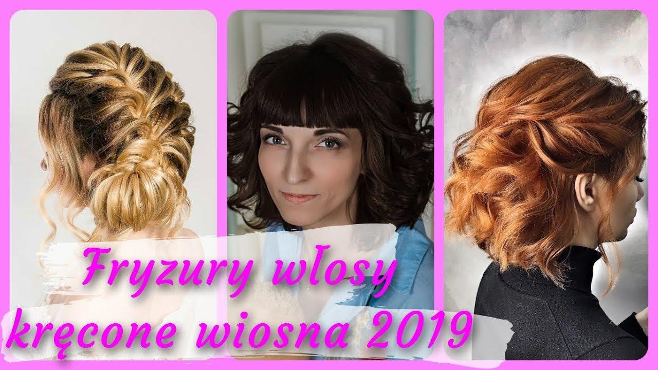 Top 20 Damskie Fryzury Włosy Kręcone Wiosna 2019