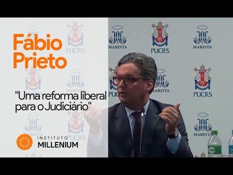 """Fábio Prieto: """"Uma reforma liberal para o Judiciário"""""""