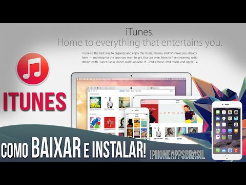 Como baixar e instalar o iTunes corretamente - Rápido e Fácil