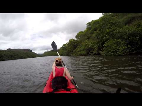 Kayaking and Hiking to Kaholalele Falls