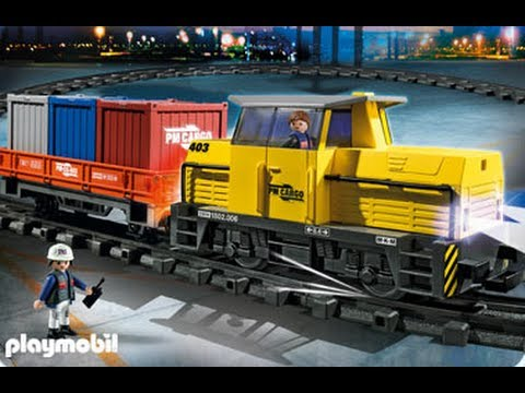 Playmobil train youtube - Train playmobil ...