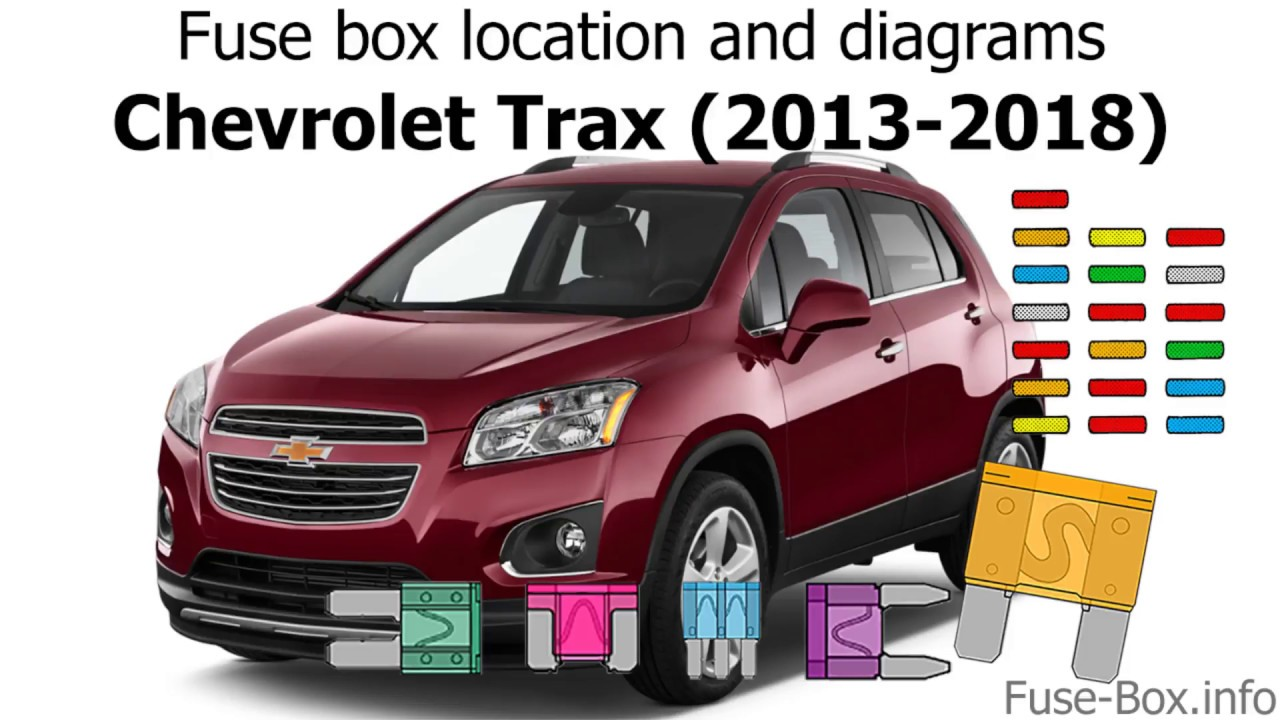 Fuse Box Location And Diagrams  Chevrolet Trax  2013