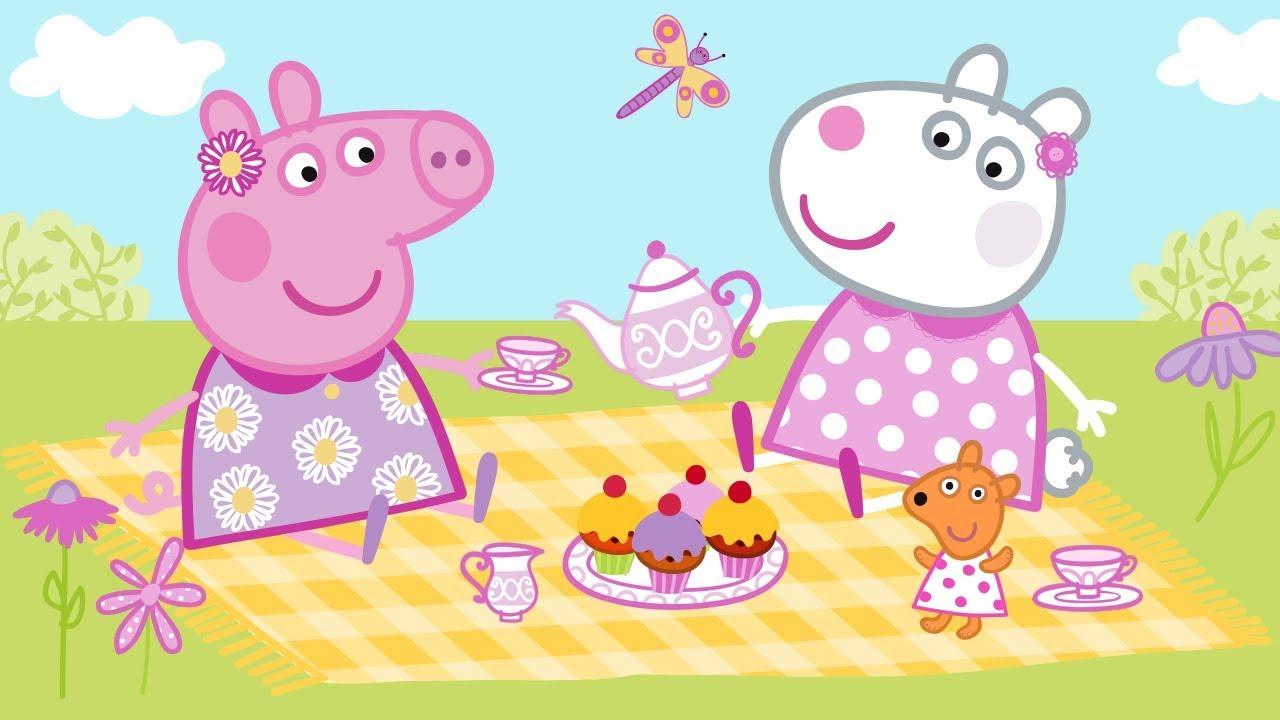 Download Peppa Wutz 🐝 Frühling: Draußen Spielen | Peppa Pig Deutsch Neue Folgen | Cartoons für Kinder