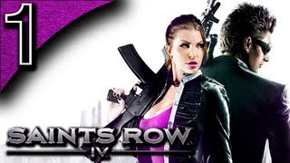 Mr. Odd. - Let's Play Saints Row 4 [CO-OP] - Part 1 - Chipmunk Character Creation [Saints Row IV]