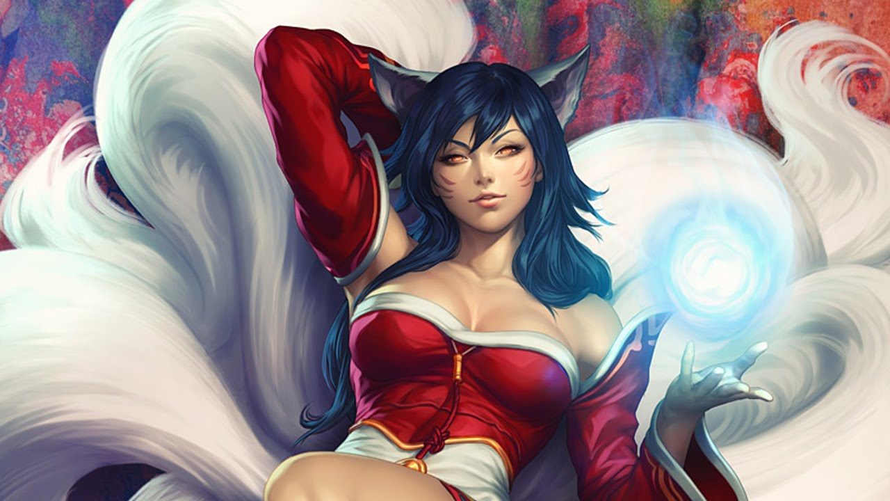 Sexy Ahri - League of Legends - YouTube