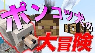 【日刊Minecraft】ポンコツ犬、まさかの超活躍!?最強の匠は誰かスカイブロック編改!絶望的センス4人衆がカオス実況!#20【TheUnusualSkyBlock】 thumbnail