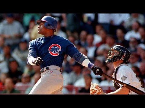 Sammy Sosa Belts His 64th And 65th Homers Of 1998