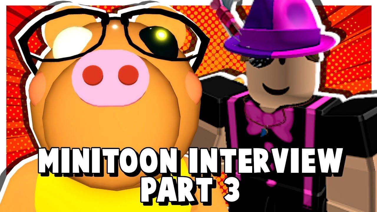 Minitoon Roblox Piggy Twitter Part 3 Roblox Piggy Creator Minitoon Interview Season 2 Hints