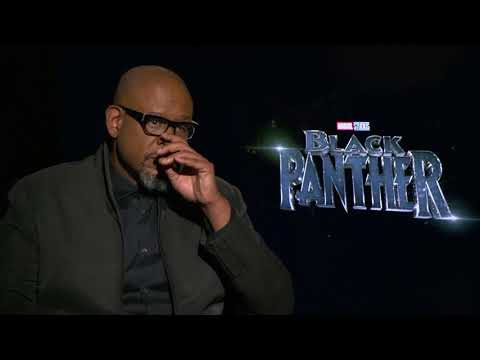 Forest Whitaker -  Black Panther Full interview