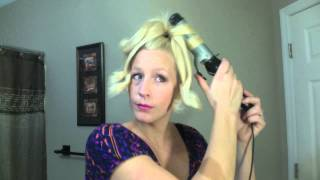How to Curl Long Hair In a Ponytail in 5mins! Pinterest-Fail or Fantastic?