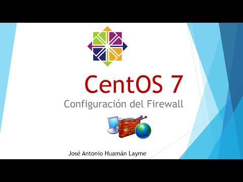 CentOS 7 - Configuración de firewall