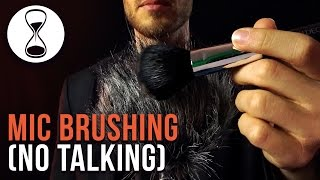 ASMR ✰ Mic Brushing for SLEEP✰ No Talking ✰ Ear to Ear ✰ Different Brushes