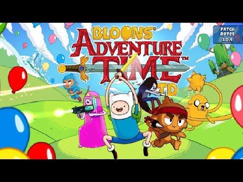 BLOONS ADVENTURE TIME TD IS OUT!!! *Download Now*