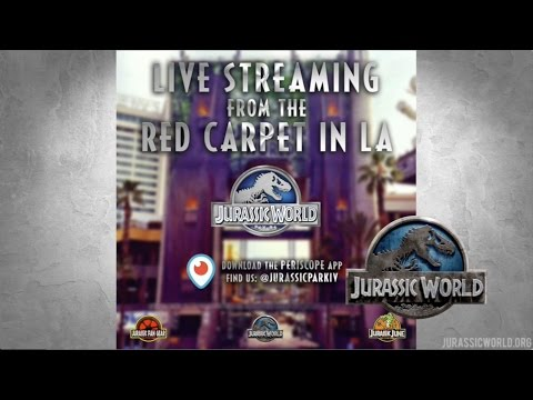 LIVE COVERAGE of the Jurassic World Premier in Hollywood California Broadband High