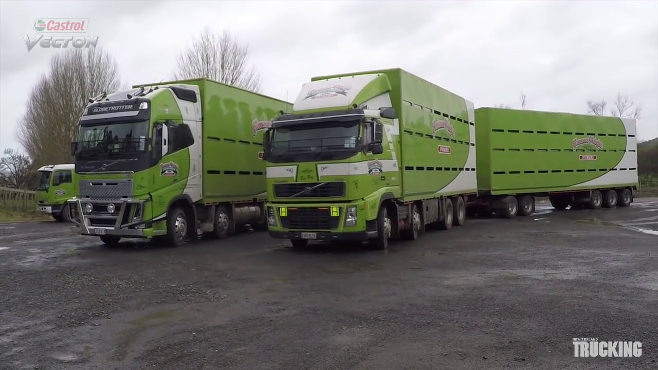 NZ Trucking  MAIN TEST - Top Gun Volvo