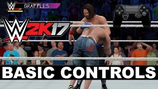 WWE 2K17 Controls: The Basics