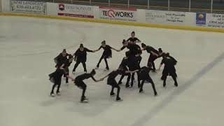 2018 National Theater on Ice Competition  | Novice Choreographic Exercise