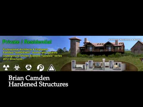 2. Fortified Homes : Radio Interview : Brian Camden : Hardened Structures - Feb 2013
