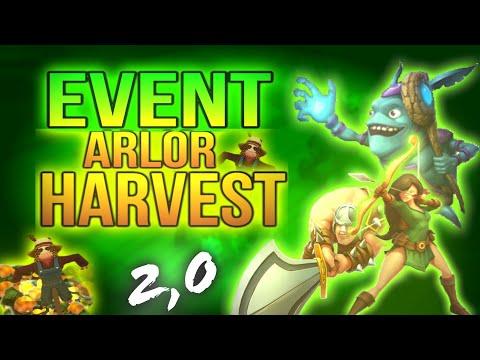 HARVEST EVENT!!-ARCANE LEGENDS//2017