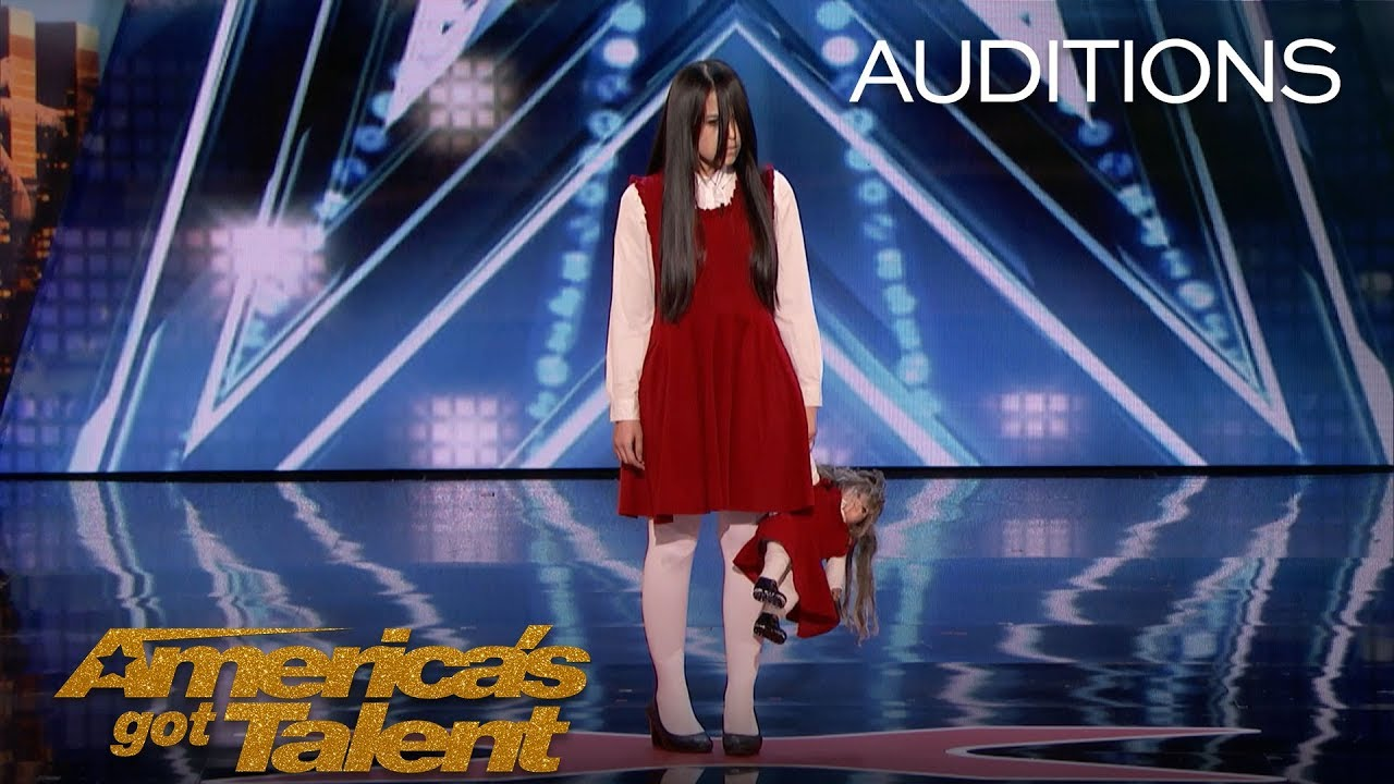 Download The Sacred Riana: Frightening, Scary, Terrifying Magician Scares Mel B - America's Got Talent 2018
