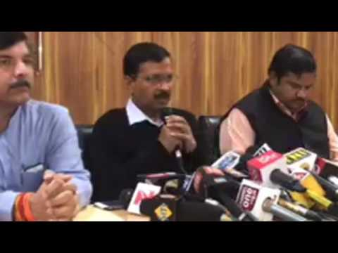 AAP Chief Arvind Kejriwal Press conference on Punjab Electio