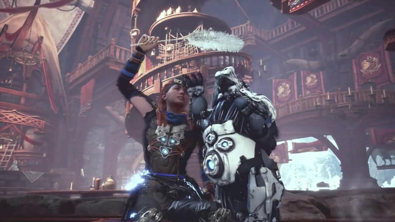 《Monster Hunter World: Iceborne》x《Horizon Zero Dawn: The Frozen Wilds》聯乘合作任務〖續篇〗