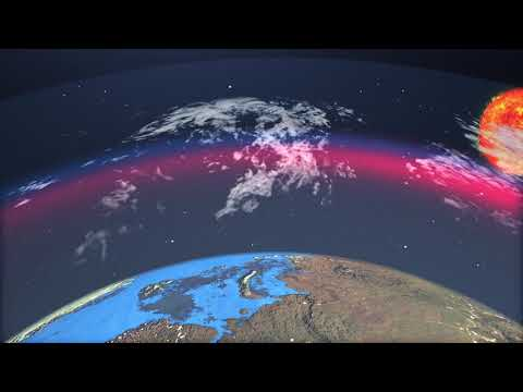 Animation on the occasion of the World Meteorological Day  - English