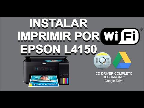 instalar-e-imprimir-por-red-lan-/-wifi-epson-l4150---sin-cable-de-datos