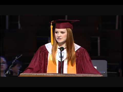 CHS Valedictorian Speech 2012 Amanda Chambers.wmv