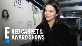 Kendall Jenner Didn't Know Pete Davidson Was Walking in Fashion Show | E! Red Carpet & Award Shows