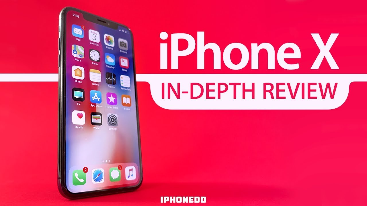 Iphone x in depth review 4k youtube for Iphone fish finder