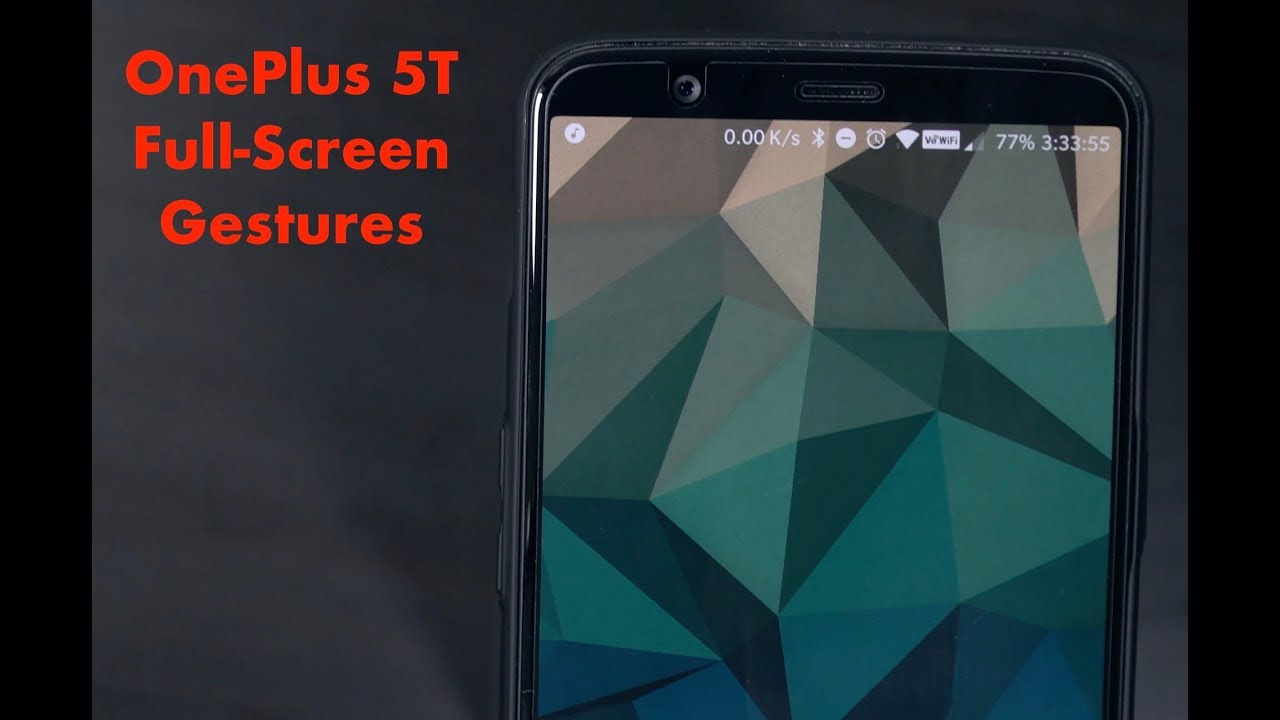 Hands-on with the OnePlus 5T's new full-screen gestures - Neowin