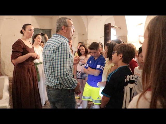 VÍDEO: Una visita a La Tercia para los más pequeños, con motivo del Día Mundial de los Museos