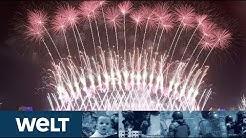 SILVESTER-FEIERN: Die Welt begrüßt ein neues Jahrzehnt